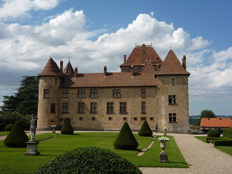 Photo du Monument Historique Château, sa conciergerie et son parc situé à Septème