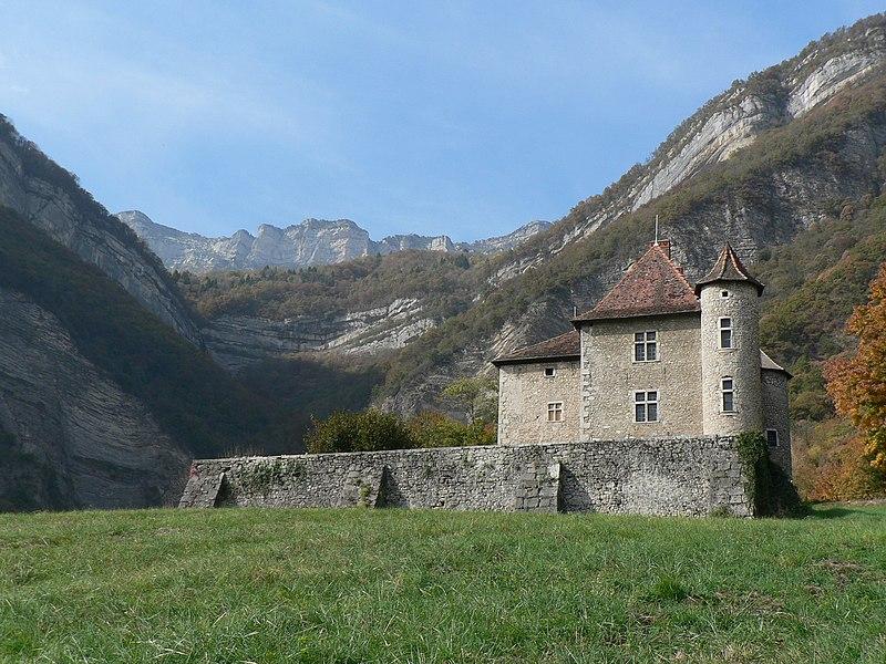 Photo du Monument Historique Château du Carré situé à La Terrasse
