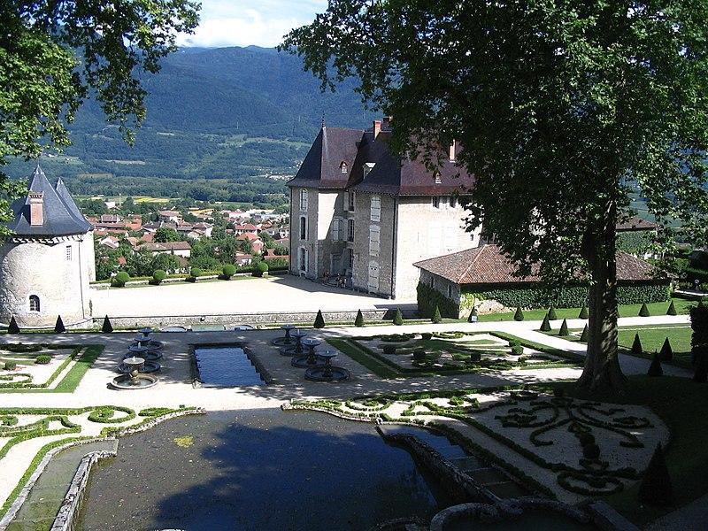 Photo du Monument Historique Château situé à Le Touvet