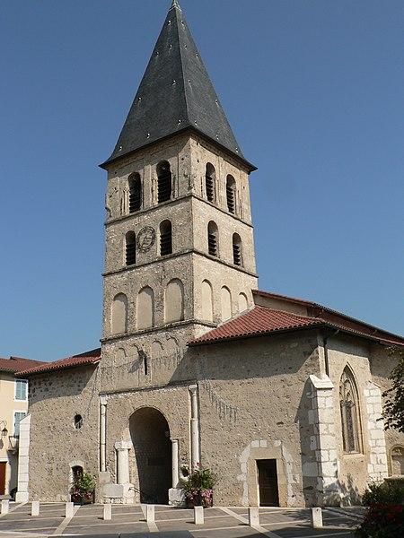 Photo du Monument Historique Eglise Saint-Laurent-des-Prés situé à Tullins