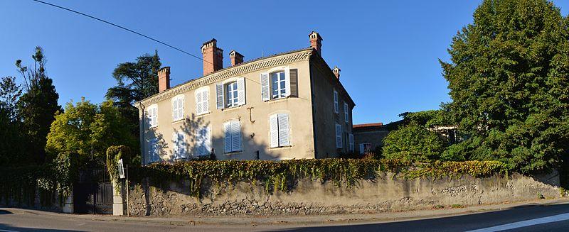 Photo du Monument Historique maison Burgaud situé à Tullins