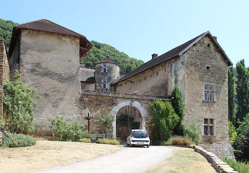 Photo du Monument Historique Château du Cingle situé à Vernas