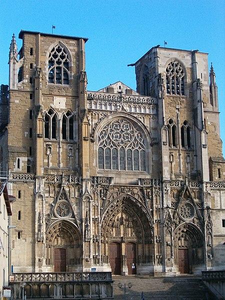 Photo du Monument Historique Eglise Saint-Maurice, anciennement cathédrale situé à Vienne