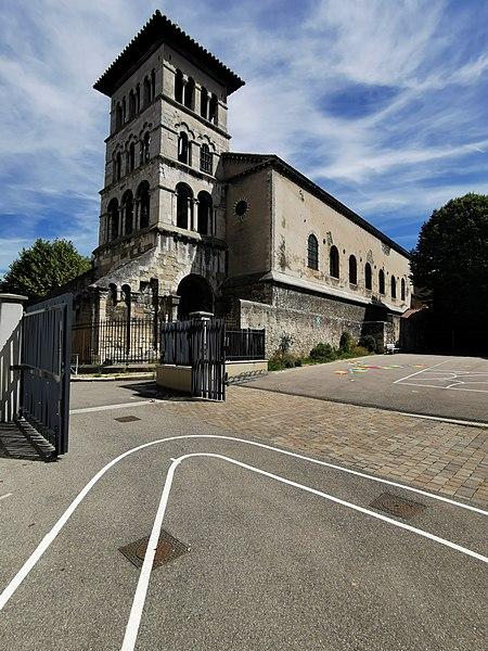 Photo du Monument Historique Eglise Saint-Pierre-le-Bas situé à Vienne