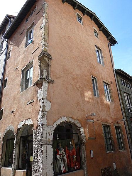 Photo du Monument Historique Maison situé à Vienne