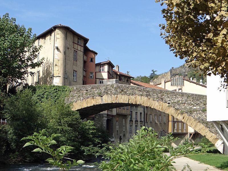 Photo du Monument Historique Pont Saint-Martin situé à Vienne