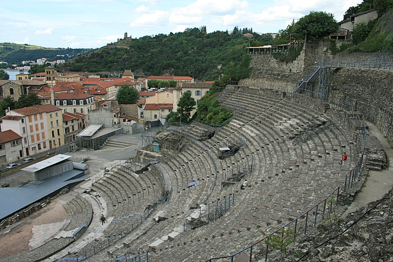 Photo du Monument Historique Théâtre antique (restes) situé à Vienne