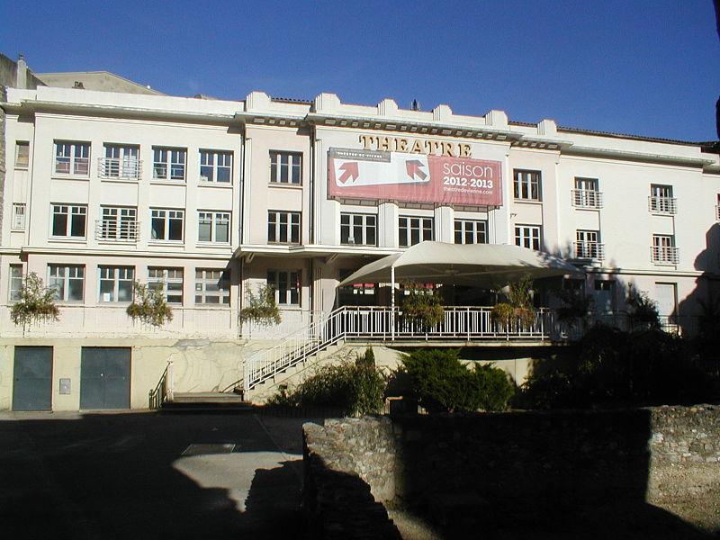 Photo du Monument Historique Théâtre municipal situé à Vienne