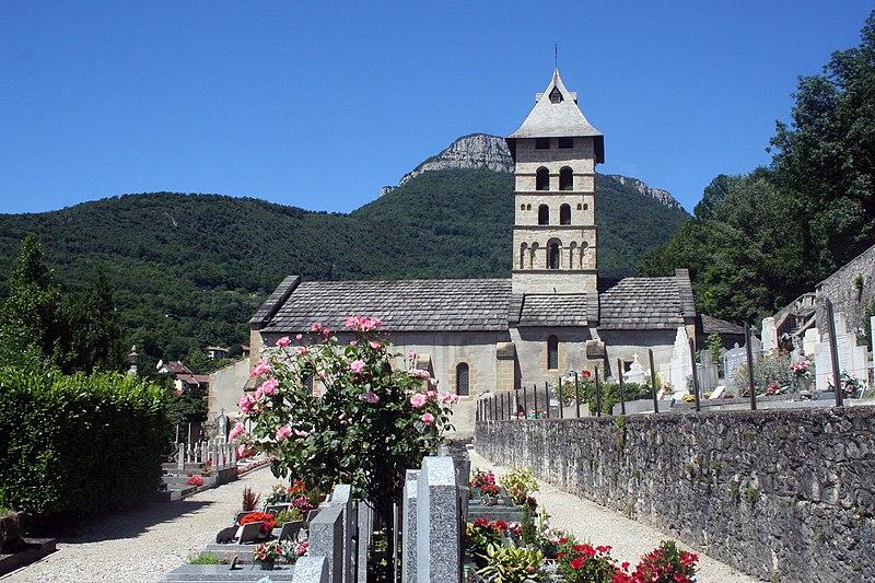 Photo du Monument Historique Eglise situé à Voreppe