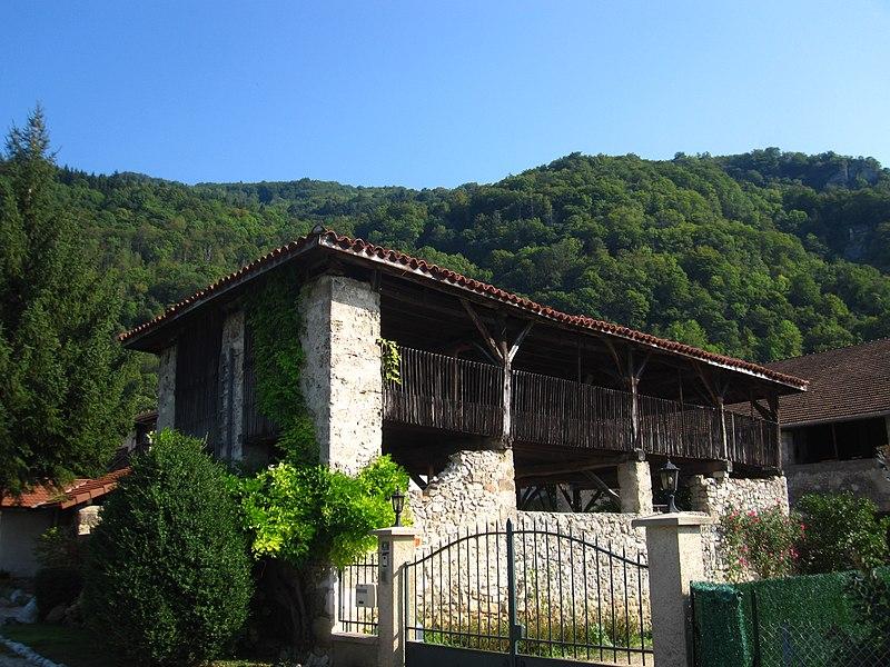 Photo du Monument Historique Séchoir à noix situé à Cognin-les-Gorges