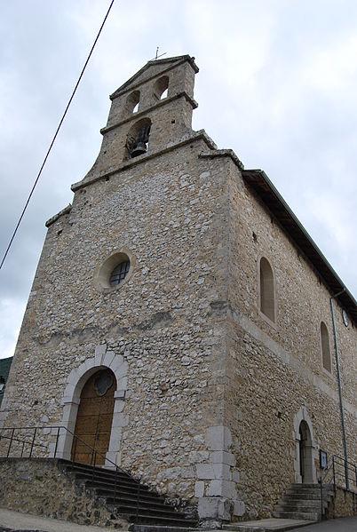 Photo du Monument Historique Eglise situé à Saint-André-en-Royans