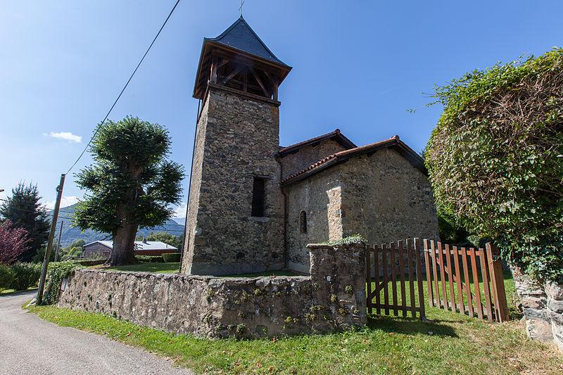 Photo du Monument Historique Chapelle Saint-Nizier situé à Saint-Martin-d'Uriage