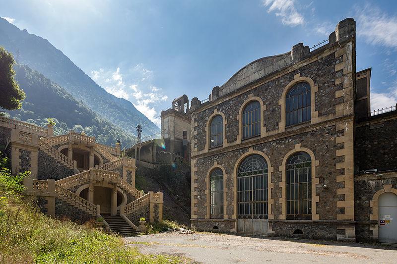 Photo du Monument Historique Centrale hydroélectrique des Vernes situé à Livet-et-Gavet