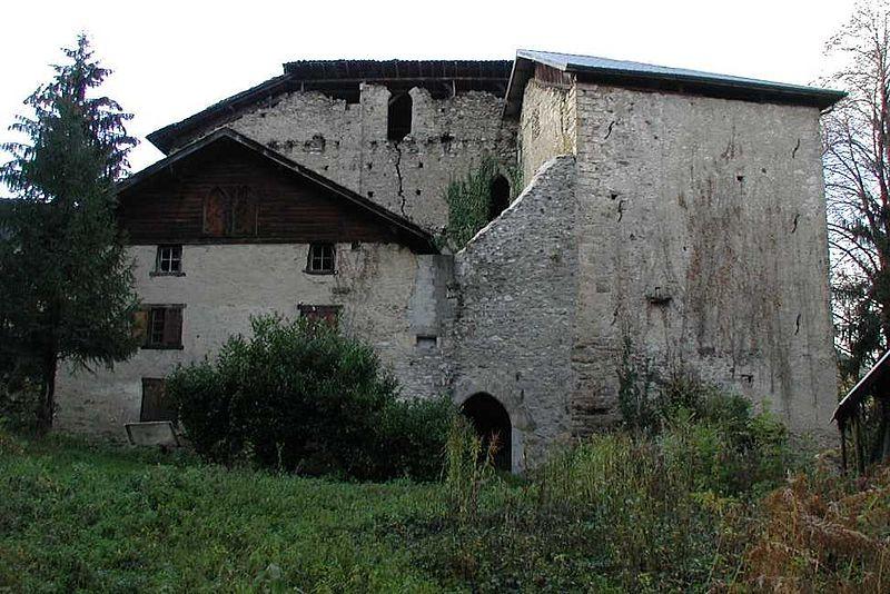Photo du Monument Historique Château situé à Theys