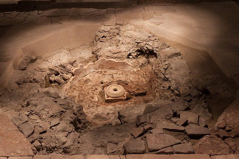 Photo du Monument Historique Crypte archéologique situé à Grenoble