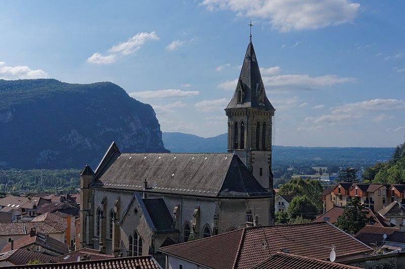 Photo du Monument Historique Eglise Saint-Didier situé à Voreppe