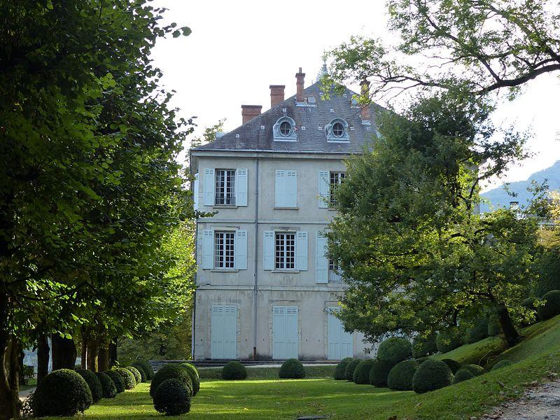 Photo du Monument Historique Château de Beauregard situé à Seyssinet-Pariset