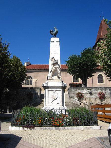 Photo du Monument Historique Monument aux morts situé à La Côte-Saint-André