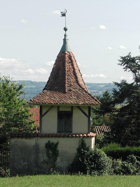 Photo du Monument Historique Ferme du Chuzeau dite Ferme Berlioz situé à La Côte-Saint-André