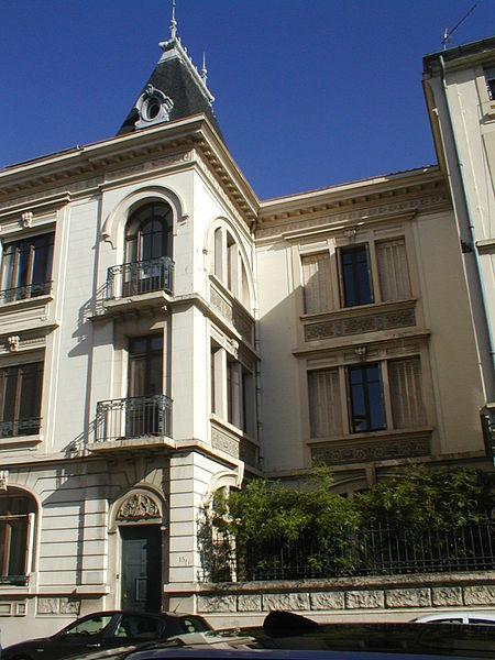 Photo du Monument Historique Villa Vaganay situé à Vienne