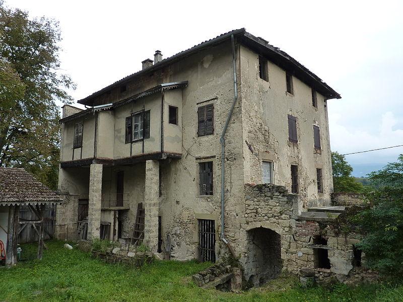 Photo du Monument Historique Usine de moulinage de la soie de la Galicière situé à Chatte