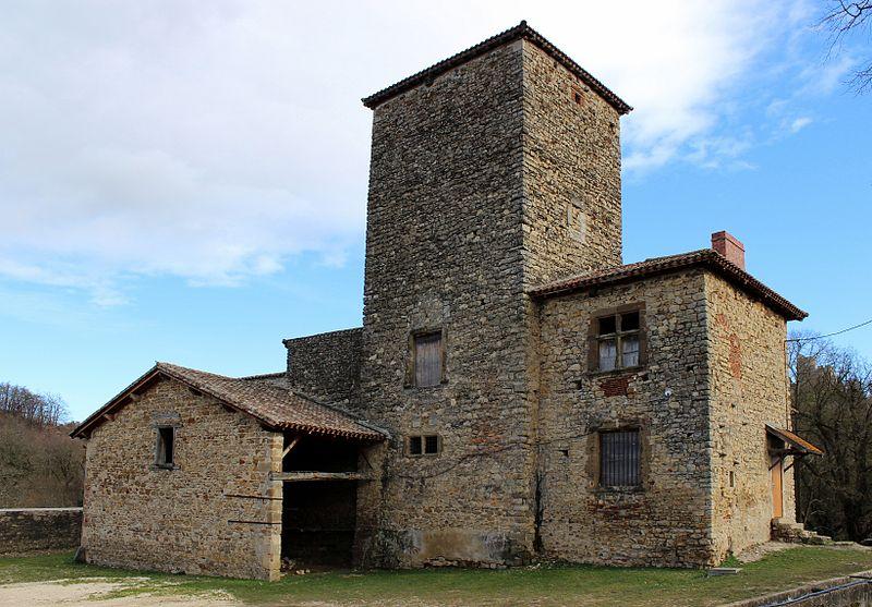 Photo du Monument Historique Maison forte des Allinges situé à Saint-Quentin-Fallavier