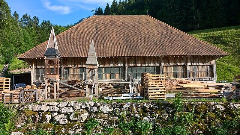 Photo du Monument Historique Tournerie du bois de Saint-Même sise à Saint-Même-Le-Bas situé à Saint-Pierre-d'Entremont