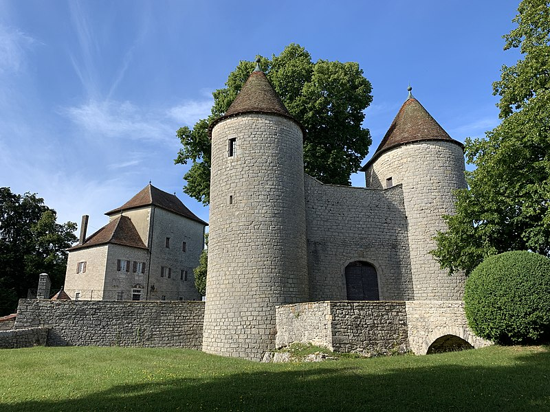 Photo du Monument Historique Château d'Andelot situé à Andelot-Morval