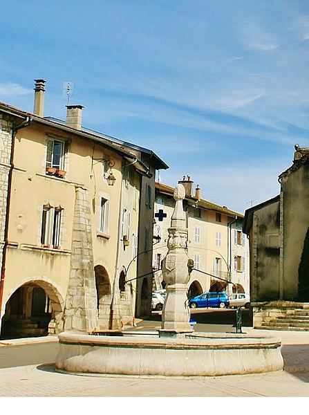 Photo du Monument Historique Fontaine situé à Arinthod