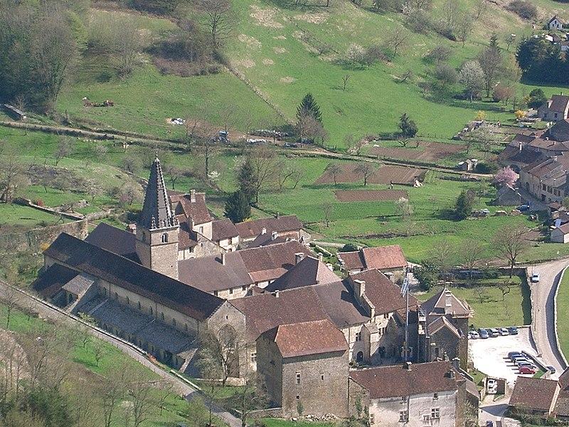 Photo du Monument Historique Ancienne abbaye situé à Baume-les-Messieurs