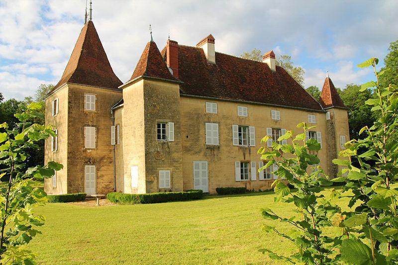 Photo du Monument Historique Château situé à Bersaillin