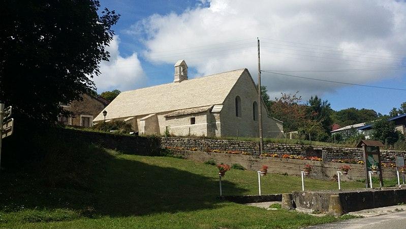Photo du Monument Historique Chapelle du château situé à Chamole