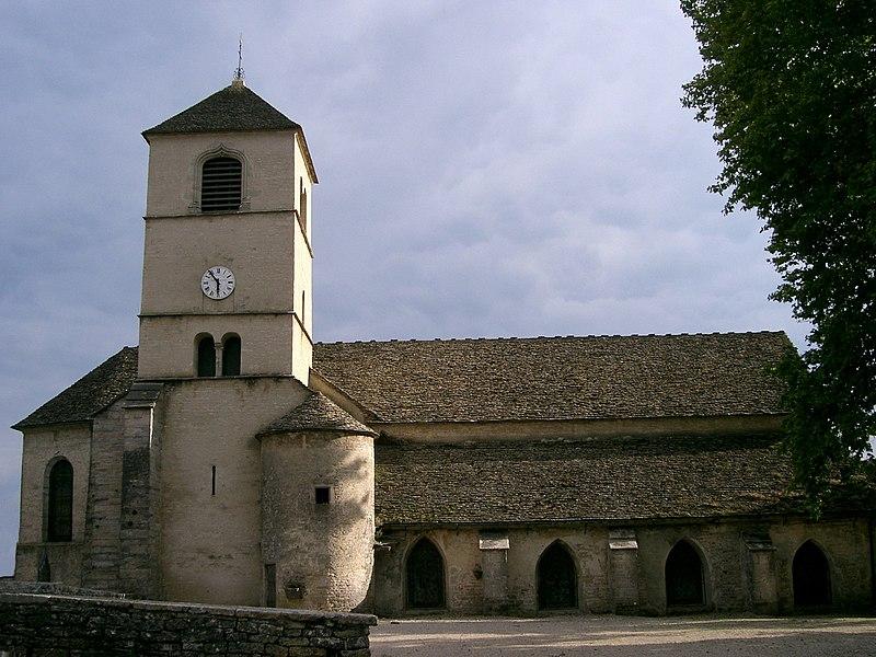 Photo du Monument Historique Eglise Saint-Pierre situé à Château-Chalon