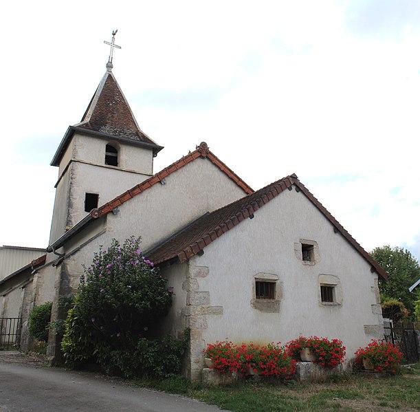 Photo du Monument Historique Eglise paroissiale situé à Chatonnay