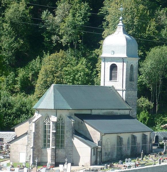 Photo du Monument Historique Eglise situé à Chaux-des-Crotenay