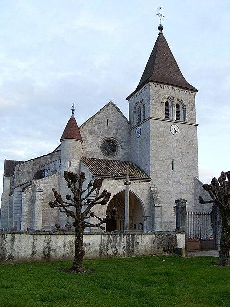 Photo du Monument Historique Eglise Notre-Dame des Ardents ou Saint-Christophe situé à Chissey-sur-Loue