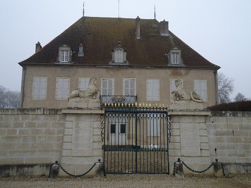 Photo du Monument Historique Château de Menthon situé à Choisey