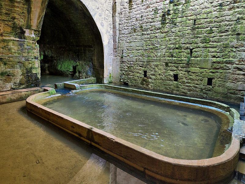 Photo du Monument Historique Fontaine et pont situé à Dole