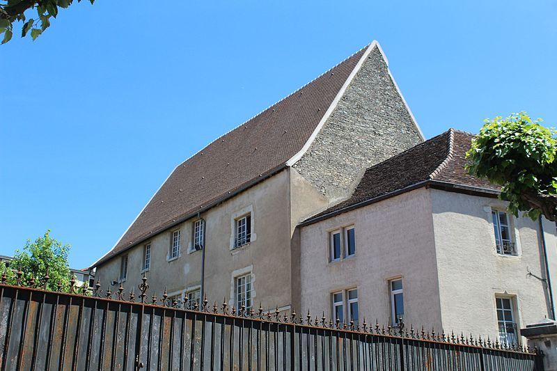 Photo du Monument Historique Hôtel de Rye situé à Dole
