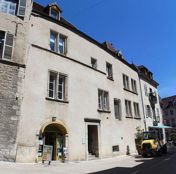 Photo du Monument Historique Immeuble situé à Dole