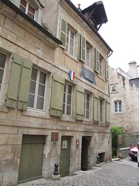 Photo du Monument Historique Tannerie, maison natale de Pasteur situé à Dole