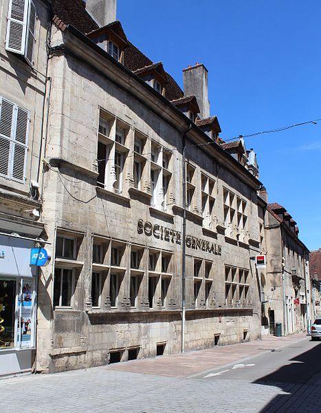 Photo du Monument Historique Hôtel Richardot situé à Dole