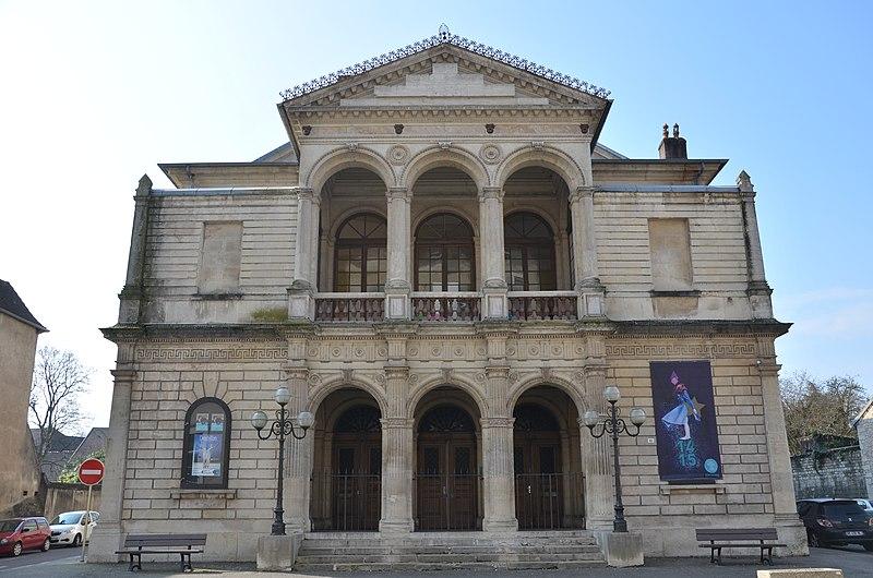 Photo du Monument Historique Théâtre municipal situé à Dole