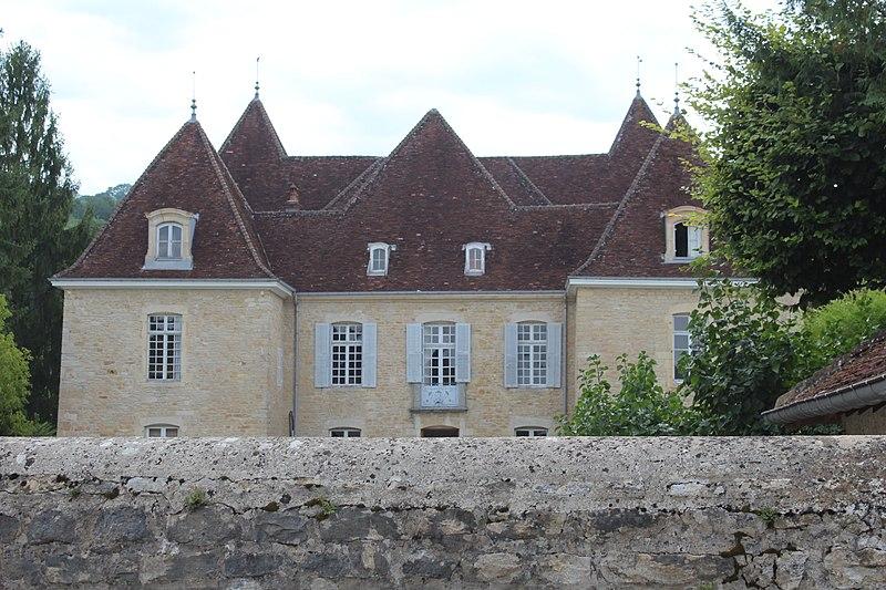 Photo du Monument Historique Château situé à Gevingey