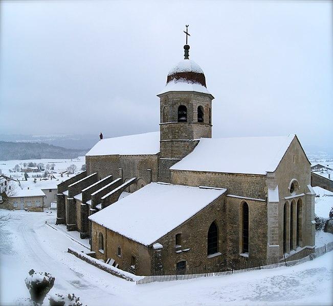 Photo du Monument Historique Abbaye situé à Gigny