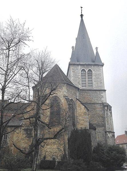 Photo du Monument Historique Eglise Saint-Désiré situé à Lons-le-Saunier