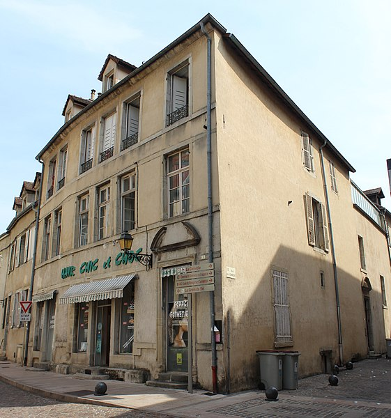 Photo du Monument Historique Hôtel Guigue de Maisod situé à Lons-le-Saunier