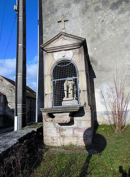 Photo du Monument Historique Oratoire du Dieu-de-Pitié situé à Moissey