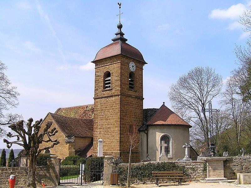 Photo du Monument Historique Eglise situé à Montigny-lès-Arsures