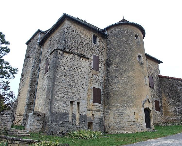 Photo du Monument Historique Château situé à Nanc-lès-Saint-Amour